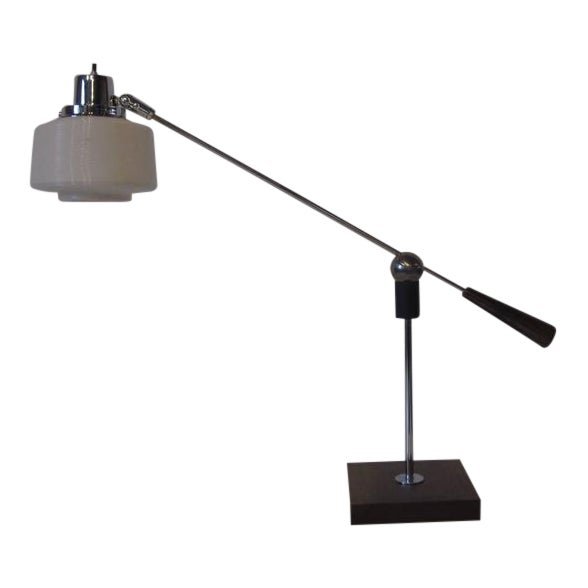 Heifetz Adjustable Desk or Table Lamp by Gilbert Waltrous For Sale