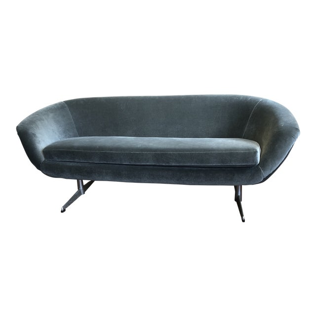 Midcentury Couch by Burris Industries For Sale