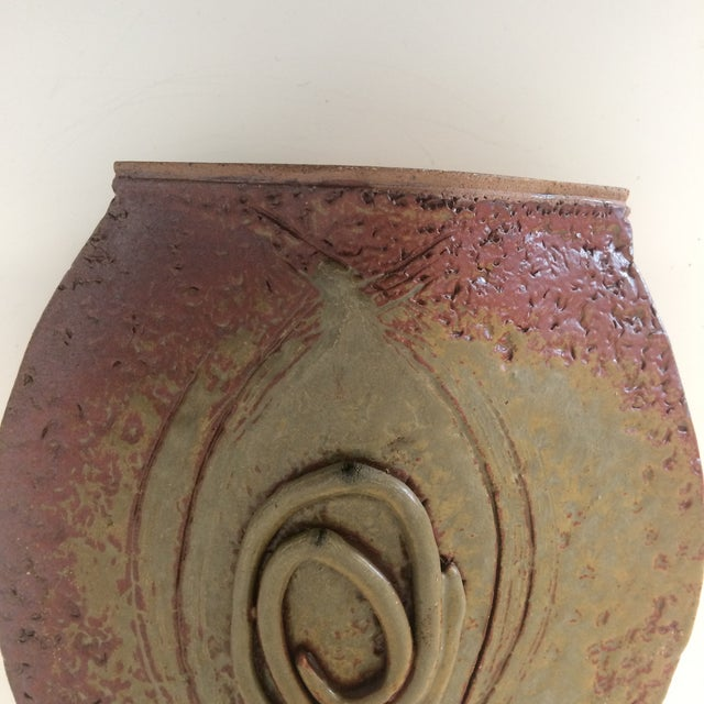Mid-Century California Ceramic Vase by Read For Sale - Image 9 of 10