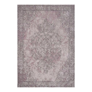 Traditional Turkish Pattern Inspired Area Rug - 6′7″ X 9′10″