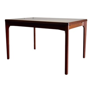 Rosewood Mid Century Danish Dining Table For Sale