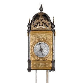 Renaissance Turret Wall Clock For Sale