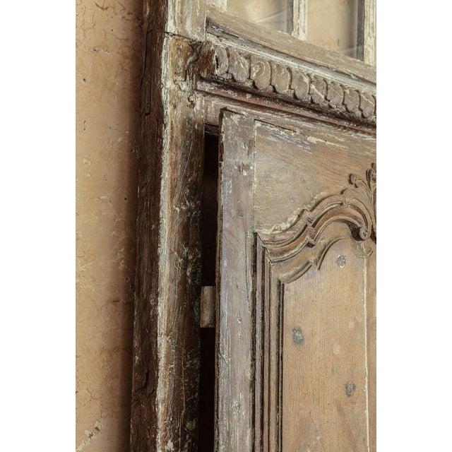 Large-Scale Transomed Louis XV Doors For Sale - Image 4 of 5