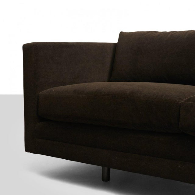 1960s Harvey Probber Chocolate Sofa For Sale - Image 5 of 7