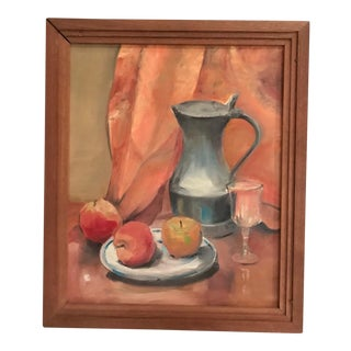 French Mid-Century Still Life Painting