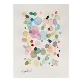 Color Bubbles Original Watercolor For Sale