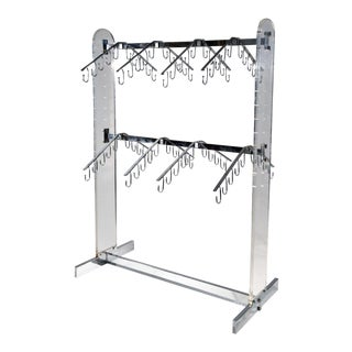 Chrome and Lucite Rack Fixture