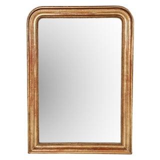 Louis Philippe Gilt Wood Mirror