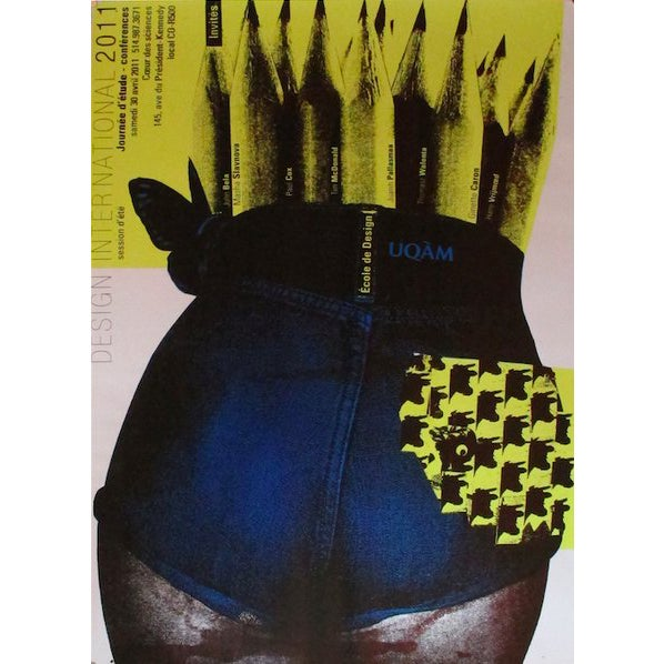 2011 Original Design International Session D'été Poster - Alfred Halasa For Sale