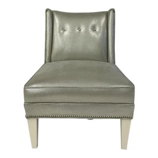 Century Furniture Foxx Armless Chair For Sale