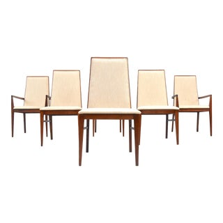 Mid-Century Dining Chairs by Milo Baughman for Dillingham - Set of Six For Sale