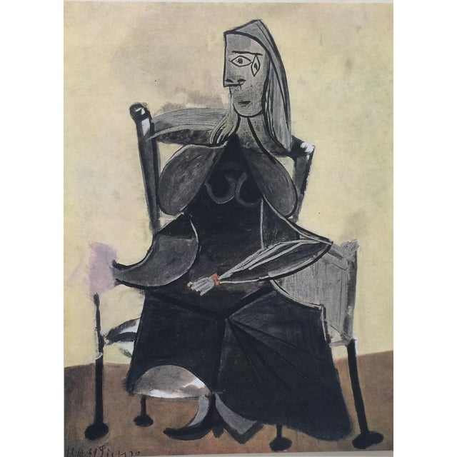 Cubism 1946 Picasso Portfolio of Fine Lithographs For Sale - Image 3 of 13