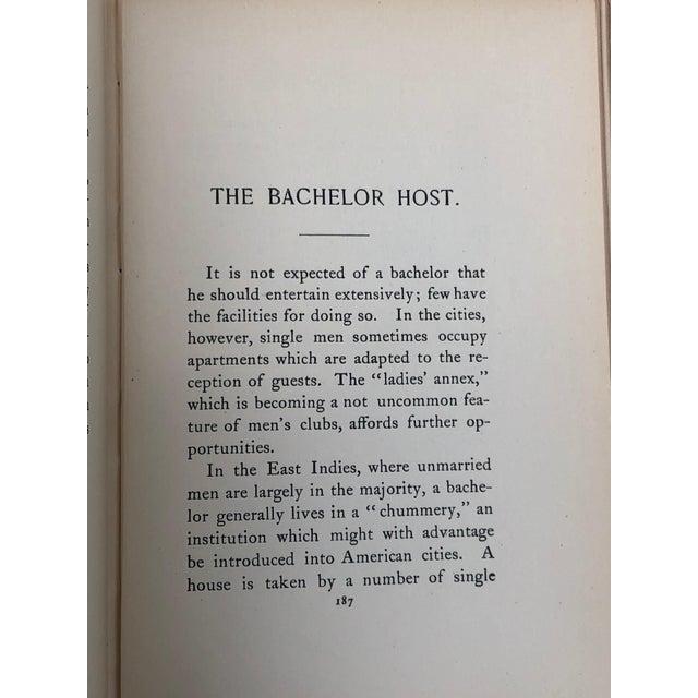 Antique Victorian Etiquette Book for Men For Sale - Image 11 of 13