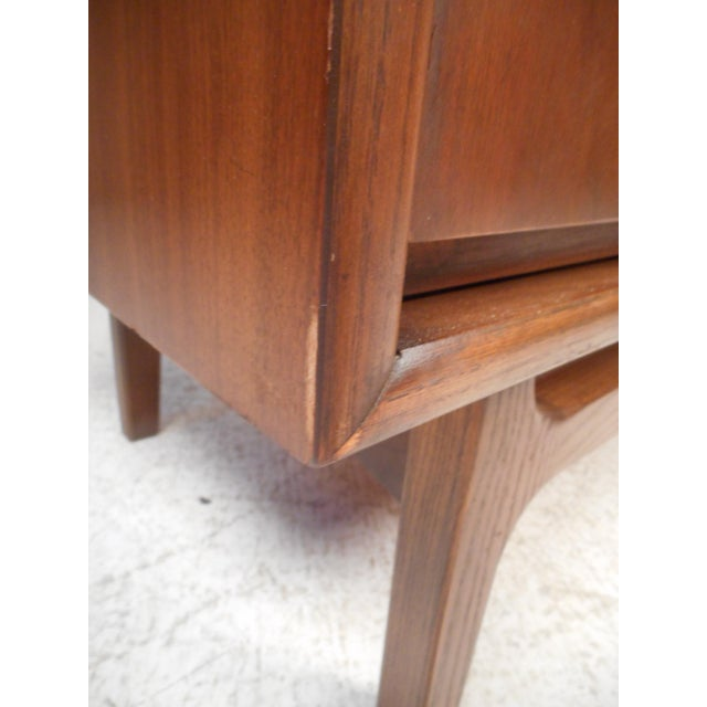 Vintage Modern Credenza With Topper by Stanley For Sale - Image 12 of 13
