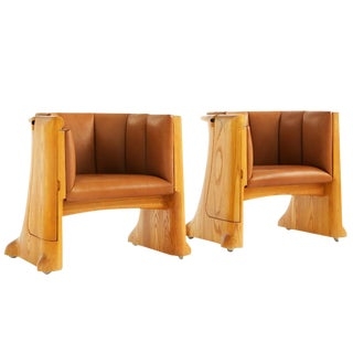 Wendell Castle Lounge Chairs For Sale