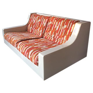 Ed Frank for Moretti Fiberglass Sofa & Bed