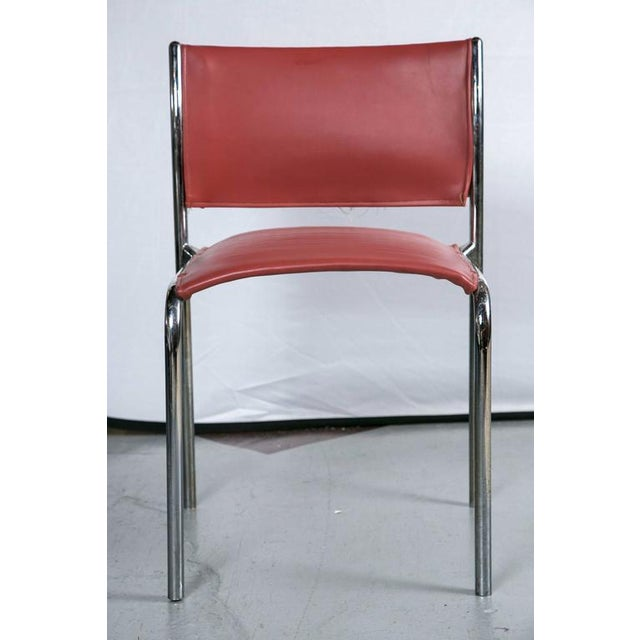 Thonet Mies van der Rohe-Style Chairs - Set of 10 - Image 3 of 4