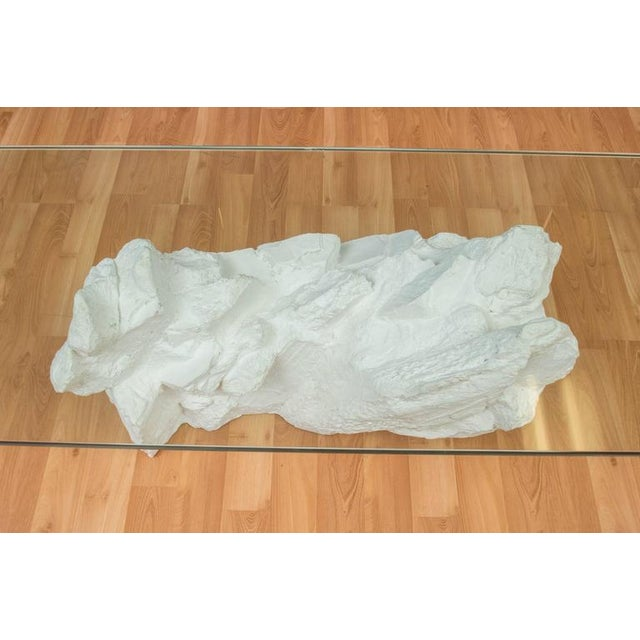 Sirmos White Plaster Rocks Coffee Table - Image 6 of 6
