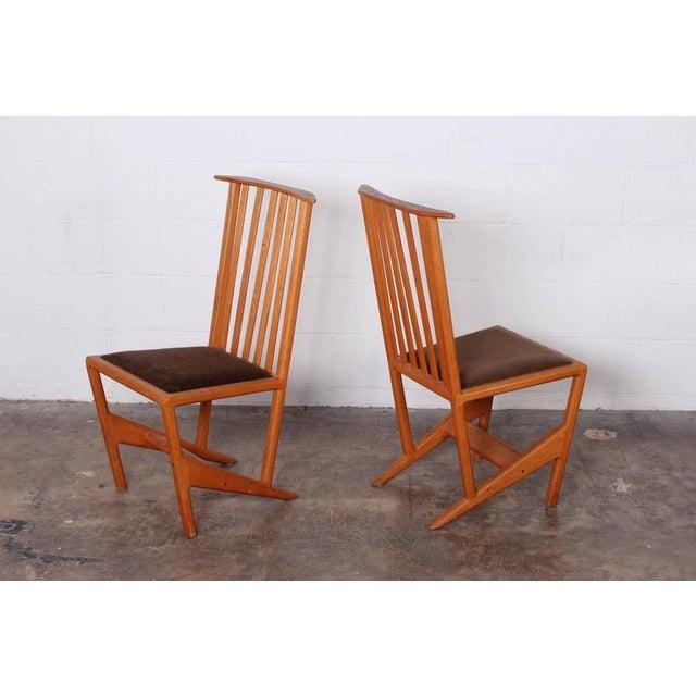Studio Craft Dining Chairs by Derek Hennigar - Image 3 of 10