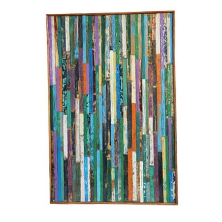 Reclaimed Boat Wood Panel For Sale