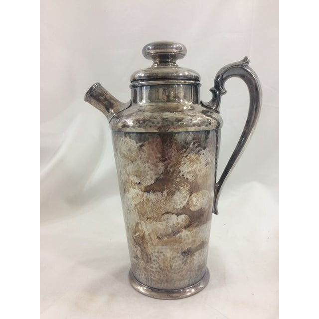 Dating from the 1920's, this martini shaker would fit right in at a party at Mr. Gatsby's! In good condition, as shown in...