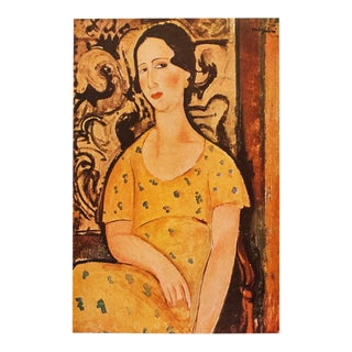 1947 Amedeo Modigliani, La Belle Espagnole Original Parisian Lithograph For Sale