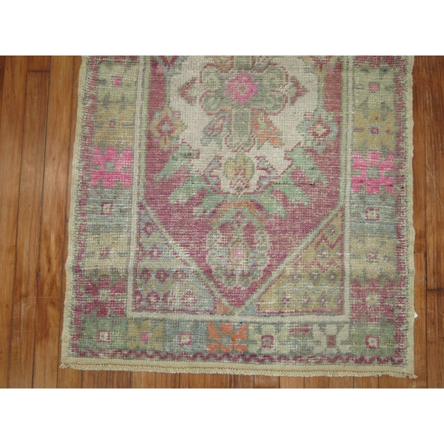Vintage Turkish Rugs - a Pair - 2'8'' x 4'8'' For Sale - Image 5 of 9