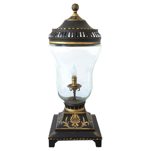 20th C. Continental Table Lantern For Sale