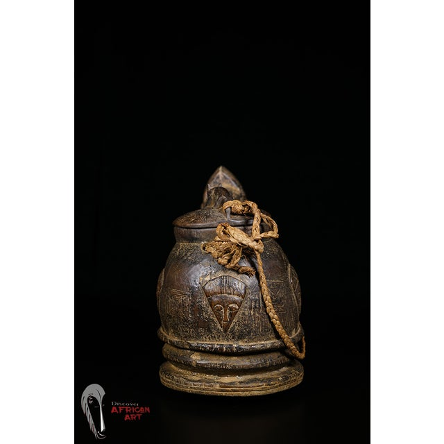 Baule African Tribal Divination Bowl - Image 8 of 11