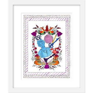 """Medium """"'She Who Leads' Heraldry"""" Print by Rachel Rogers, 17"""" X 21"""" For Sale"""