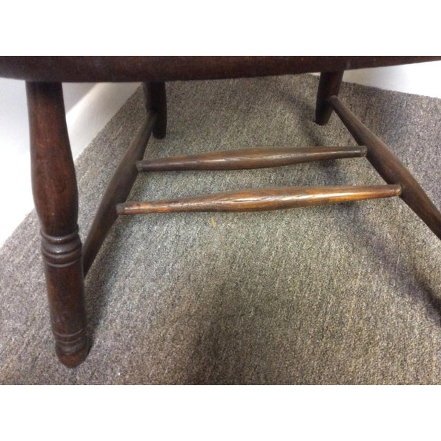Late 19th Century Antique Heywood Bros. & Wakefield Bentwood Windsor Chair For Sale - Image 5 of 8