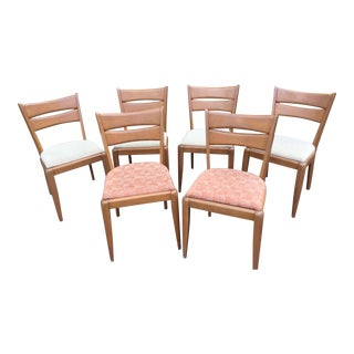 1950s Mid Century ModernHeywood Wakefield Chairs - Set of 6