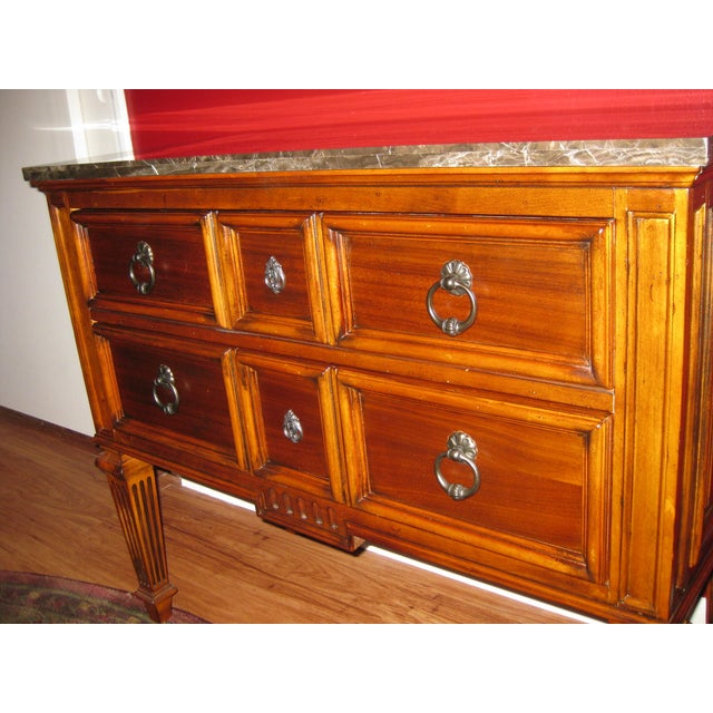 Ethan Allen Tuscany Bonner Console Table - Image 6 of 11