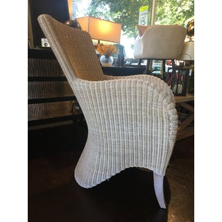 White-Washed Wicker Chairs - Pair Preview