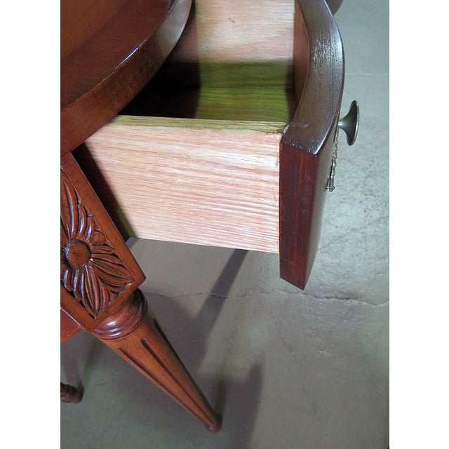 Louis XVI Louis XVI Style Inlaid Writing Desk For Sale - Image 3 of 6
