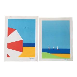 Britta Westhausen, Stenders Forlag, Art Print Set - a Pair