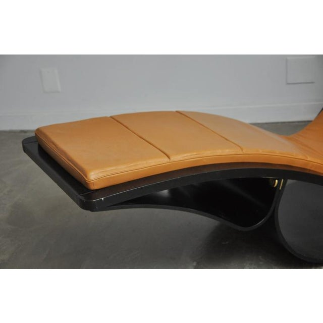 """Original """"Rio"""" Rocking Chaise by Oscar Niemeyer For Sale In Chicago - Image 6 of 7"""