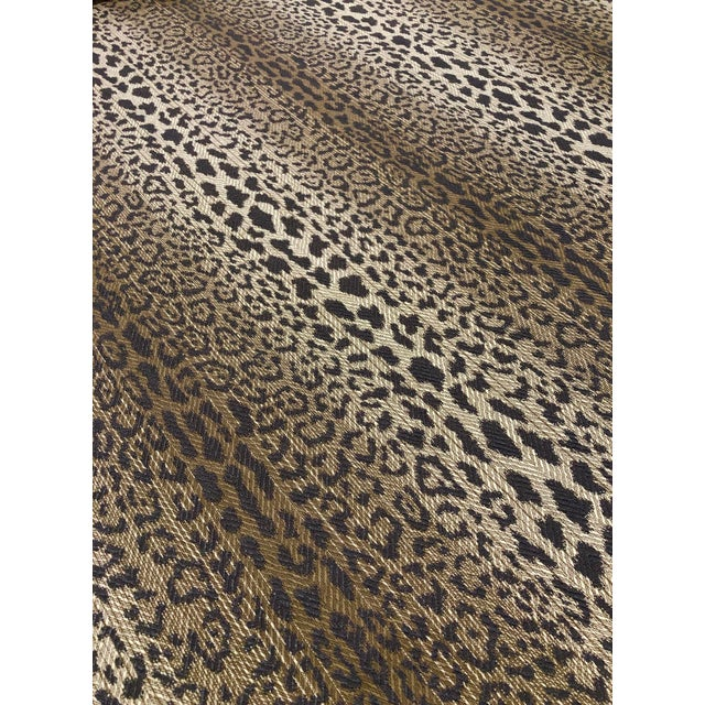 Contemporary Pindler & Pindler Lynx - Transitional Greystone Multipurpose Fabric - 11.25 Yards For Sale - Image 3 of 6