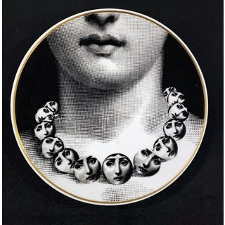 Fornasetti Rosenthal Plate- Temi E Variazioni-Themes and Variation, Motiv 16 For Sale