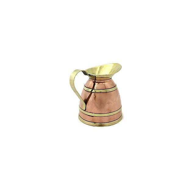 English English Copper Banded Jug For Sale - Image 3 of 7