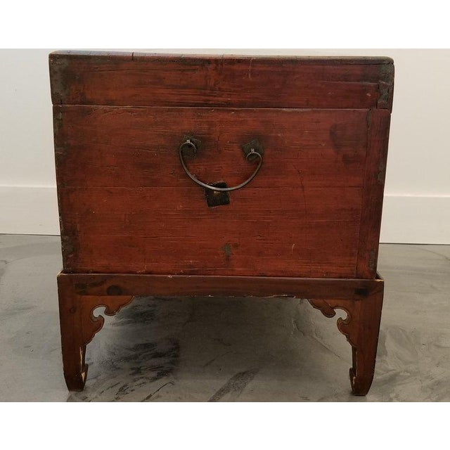 Chinese Trunk on Stand For Sale - Image 9 of 13