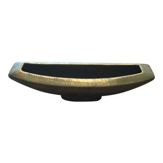 Freeman McFarlin California USA Gold Pottery Pot