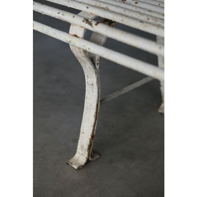 French French Iron Bench For Sale - Image 3 of 10