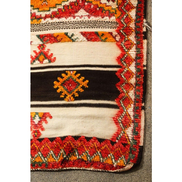 Textile Moroccan Vintage Tribal Rug For Sale - Image 7 of 10