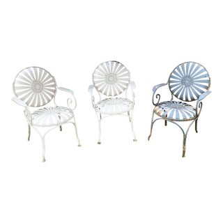 Art Deco Francois Carre Chairs - Set of 3 For Sale