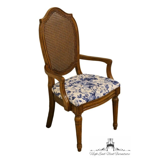 """Thomasville Furniture Tapestry Collection Cane Back Dining Arm Chair 15221-861-862 2 available, priced each. 40.25"""" High..."""