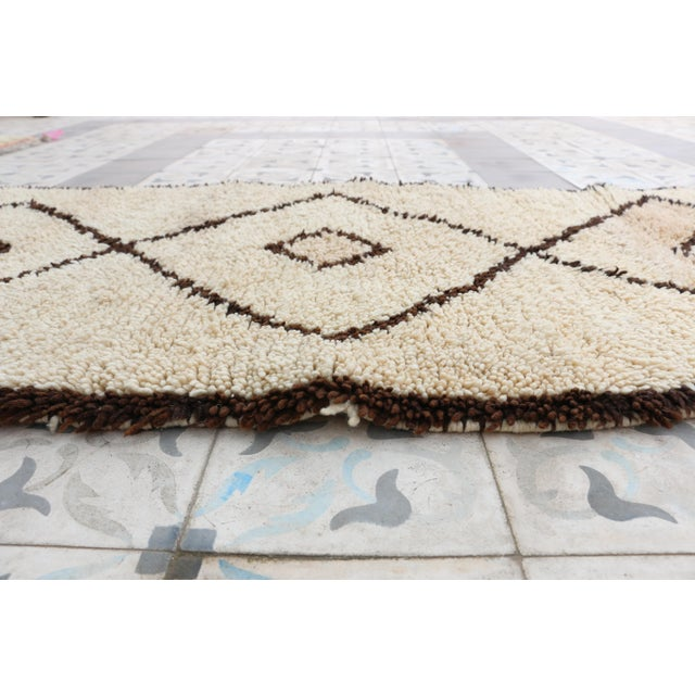 "Vintage Azilal Moroccan Berber Runner- 2'7"" x 6'7"" - Image 4 of 4"