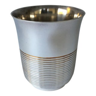 Christofle Silver Plated Babe Tumbler Cup