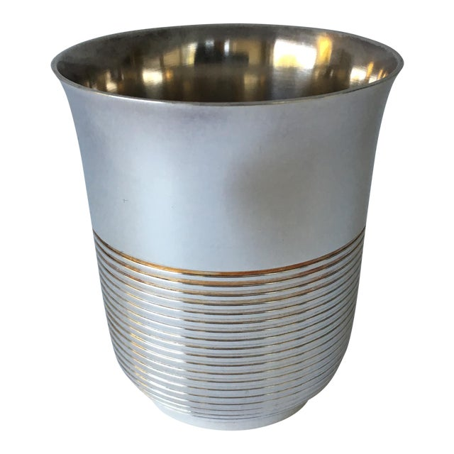 Christofle Silver Plated Babe Tumbler Cup For Sale