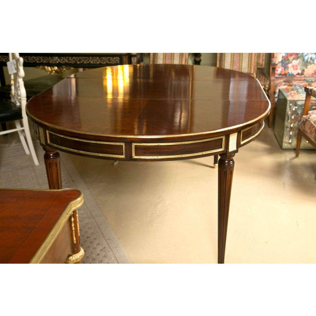 World class french louis xvi style mahogany dining table decaso french louis xvi style mahogany dining table image 6 of 10 workwithnaturefo